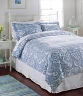 L.L. Bean L.L.Bean Premium Supima Flannel Comforter Cover, Floral