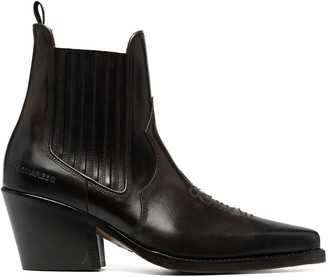 DSQUARED2 Cuban-heel boots