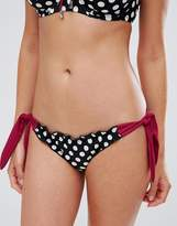 Pour Moi? Pour Moi Starboard Spot Tie Side Bikini Bottom