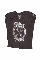 Rebel Yell Viva Rocker Tee in Black