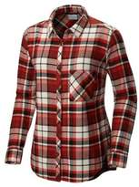 Columbia Deschutes River Flannel Button-Down Shirt