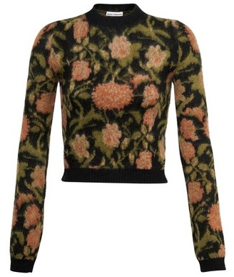 Paco Rabanne Floral detail sweater