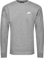 Nike Crew Neck Club Jumper Grey