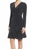 Michael Kors Black Women's Size Large L Sheath Shimmer Dress