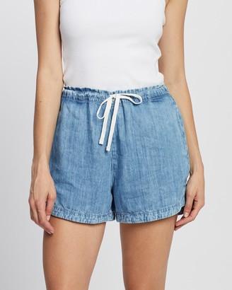 Outland Denim Women's Blue Denim - Faith Shorts - Size One Size, XS at The Iconic