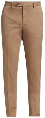 Brunello Cucinelli Gabardine Flat Front Pants