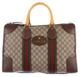 Gucci 2017 GG Supreme Web Duffle Bag