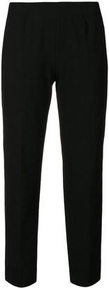 Piazza Sempione Cropped Slim Fit Trousers