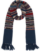 Marc by Marc Jacobs Fair Isle Embellished Scarf