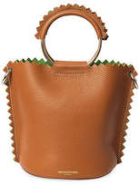 Sara Battaglia Helen Leather Bucket Bag