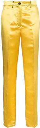 Calvin Klein High Waist Satin Trousers