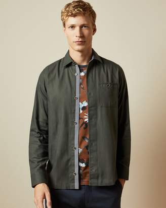 Ted Baker Long Sleeved Over Shirt