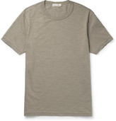 Alex Mill Slub Cotton-jersey T-shirt - Army green