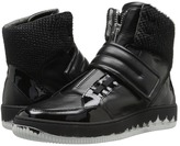 Just Cavalli Viper Horse Leather and Patent Leather Men's Shoes