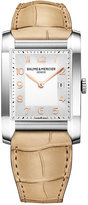 Baume & Mercier Women's Swiss Hampton Sand Alligator Leather Strap Watch 27x40mm M0A10081