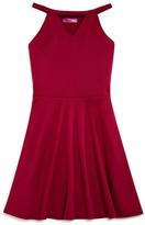 Aqua Girls' Cutout Knit Dress - Sizes S-XL