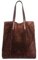 Merona Women's Suede Tote Handbag