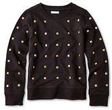 Joe Fresh Joe FreshTM French Terry Studded Sweatshirt - Girls 4-14