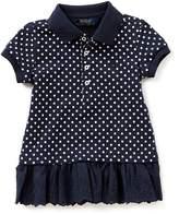 Ralph Lauren Little Girls 2T-6X Dotted Polo Tunic