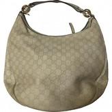 Gucci Hobo Beige Leather Handbags