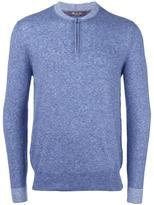 Loro Piana henley pullover - men - Silk/Cashmere - 48