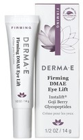 Derma E Firming DMAE Eye Lift with Instalift® and Advanced Peptides - 0.5 oz
