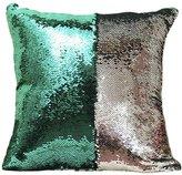 Bling Paillette Decorated Chair Seat Back Cushion Cover ChezMax Throw Pillow Case Slip Sham Slipover Pillowcase For Unisex Kids Children Boys Girls