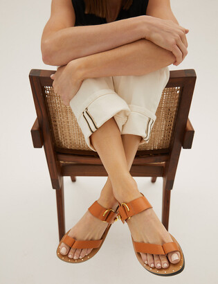 Marks and Spencer Leather Toe Loop Sandals