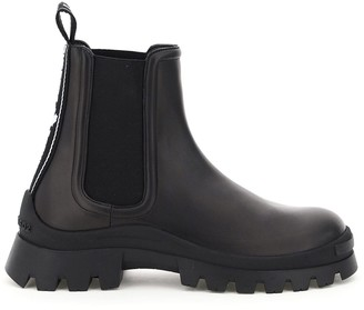 DSQUARED2 CHELSEA BOOTS WITH LOGO 40 Black Leather