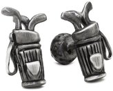 "Rotenier Atelier"" Sterling Silver Golf Bag and Golf Ball Cufflinks"