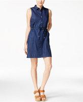 Calvin Klein Jeans Denim Sleeveless Shirtdress