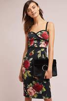 Black Halo Petite Floral Sheath Dress