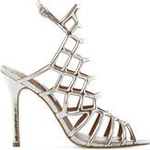 Steve Madden Slithur caged metallic sandals