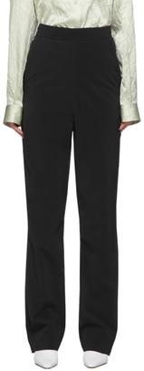 Kassl Editions SSENSE Exclusive Black Pop Oil Trousers