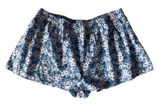 Cacharel Multicolour Cotton Trousers