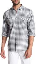 James Campbell Fausto Checked Long Sleeve Regular Fit Shirt