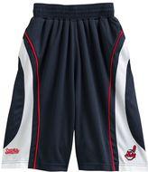 Stitches cleveland indians colorblock shorts - boys 8-20