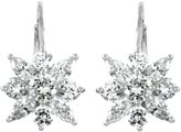 Emitations Acacia's Leverback CZ Flower Earrings