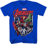 Marvel Avengers Shield Group Tee - Boys 8-20