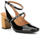 Calvin Klein Cleary Patent Leather Mary Jane Pumps