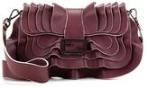 Fendi Baguette Wave Leather Shoulder Bag