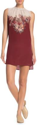 AllSaints Jay Clement Floral Sleeveless Silk Dress