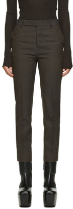 Rick Owens Brown Austin Trousers