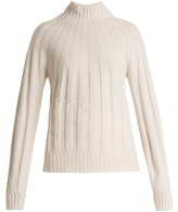 Bottega Veneta Roll-neck ribbed-knit cashmere sweater