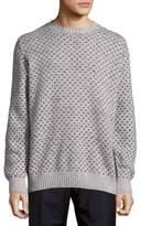Brunello Cucinelli Rib-Trimmed Graphic Sweatshirt