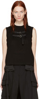 Noir Kei Ninomiya Black Layered Tank Top