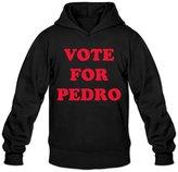Sarah Men's Vote For Pedro Ringer Hoodie XL