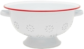 Crow Canyon Red Enamel Colander