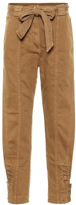 Ulla Johnson Carmen high-rise belted jeans