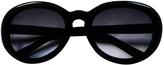 Balenciaga Black Plastic Sunglasses